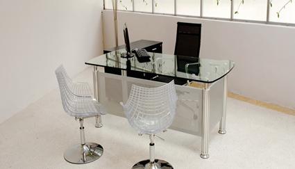 Escritorios modernos for Dimensiones escritorio oficina