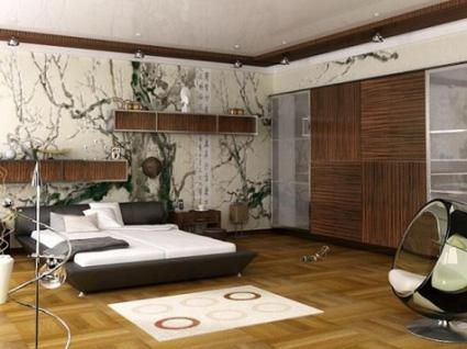 Un mural para decorar tu habitaci n for Murales pared dormitorio