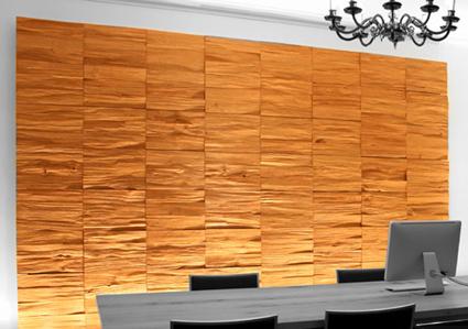 Paneles de madera for Paneles madera paredes interiores