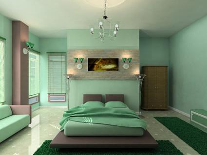 decora tu dormitorio con el verde menta   decoactual