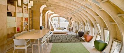 La madera tu hogar - Casas de madera por dentro ...