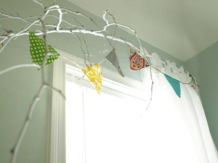 Cortineros inspirados en ramas de arboles