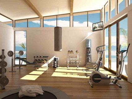 Decoración para tu gym en casa