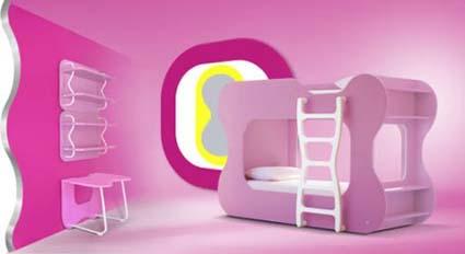 Muebles Modernos En Habitaciones De Ninas