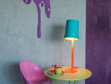 L mparas - Como hacer una lampara de mesa casera ...
