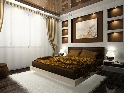 Tonos tierra para el dormitorio - Color tierra pared ...