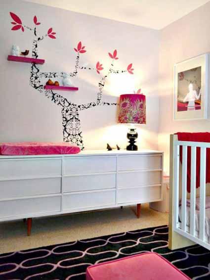 Ideas para decorar la habitación de tu bebita