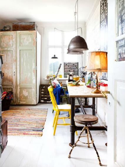 Despacho vintage en casa