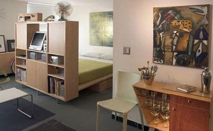 C mo dividir espacios en apartamentos peque os - Muebles para apartamentos pequenos ...