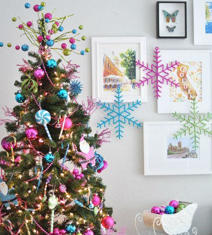 Color azul for Arbol navidad turquesa