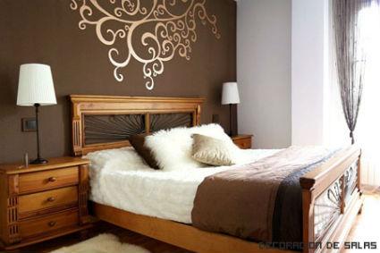 Paredes con varios colores for Calcomanias para dormitorios