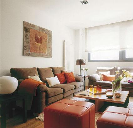 Cómo colocar sofás y sillones en el salón