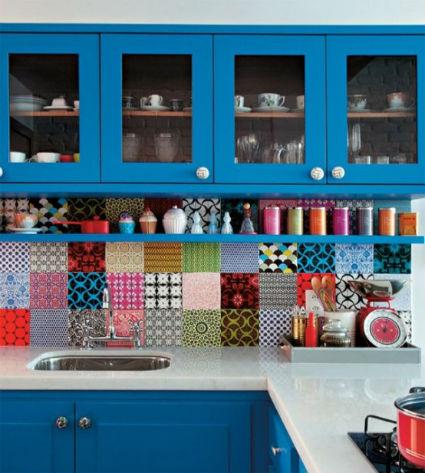 Azulejos decorativos para la cocina - Azulejos vintage cocina ...