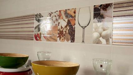 Azulejos decorativos para la cocina - Cenefas modernas para cocina ...