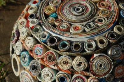 Decorar con objetos reciclados - Objetos reciclados para el hogar ...