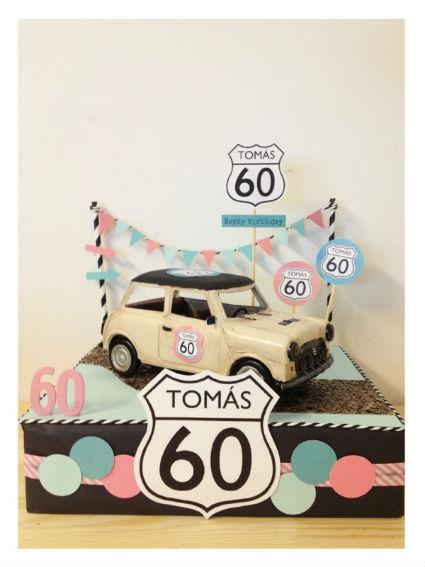 idea torta auto viejo
