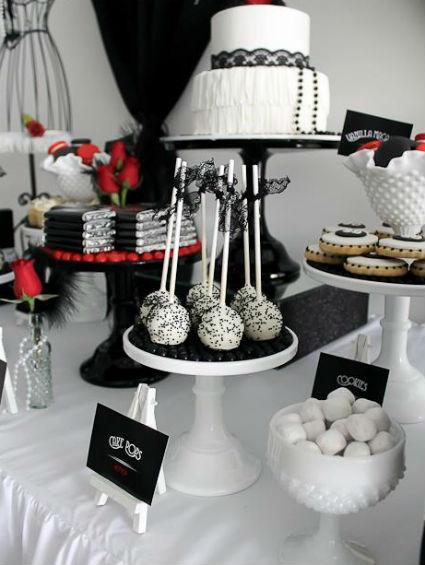 mesa de dulce cumpleaños adulto