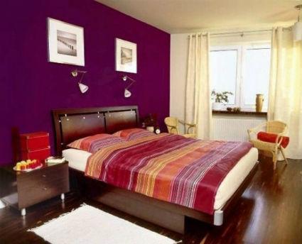 Decoración con púrpura