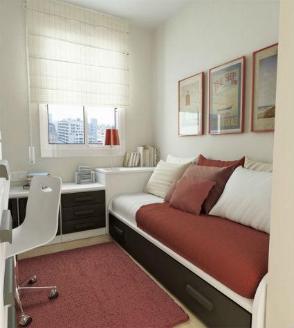 Dormitorios juveniles con camas modulares