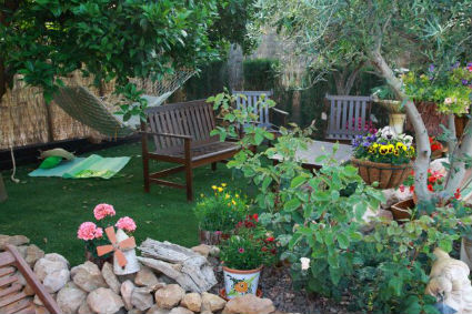 Decorar el jardin con poco dinero simple decorar el - Decorar el jardin con poco dinero ...