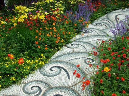 senderos jardin