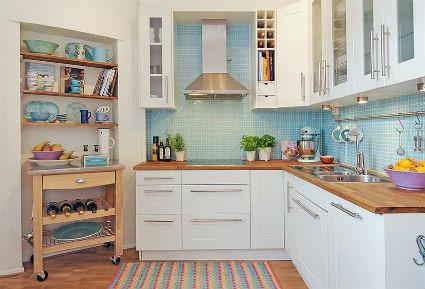 Cocinas blancas llenas de estilo