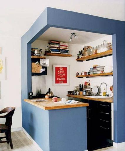 Decorar salones con cocina integrada