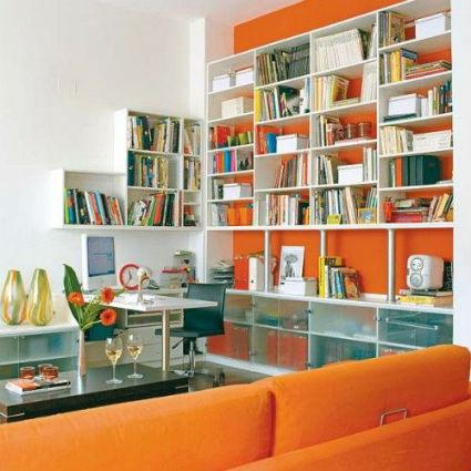decoracion naranja