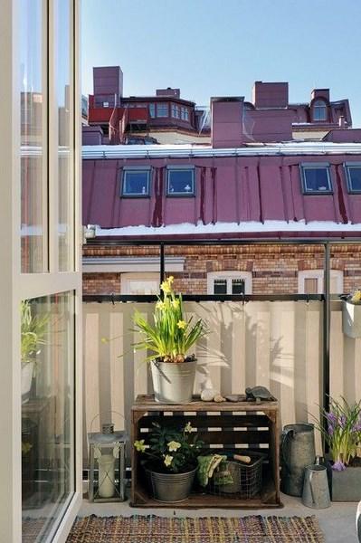 balcon decoracion