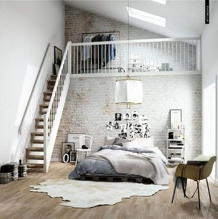 Decoración de pisos tipo loft - DecoActual.com