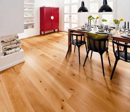 Mantenimiento de suelos de madera y laminados