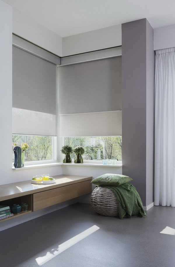 Beneficios de las cortinas enrollables