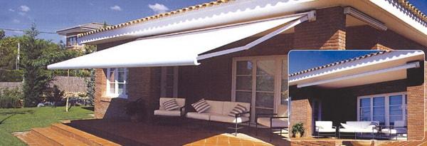 Toldos modernos para terrazas y galerías