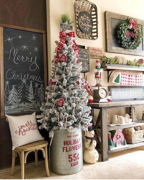 Decoraci n navide a sencilla para el hogar decoactual for Decoracion navidena para el hogar