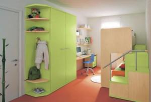 Compartiendo el dormitorio de los niños