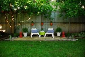 Disfruta del jardín con algunos detalles