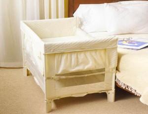 Compartiendo la habitación con el bebé