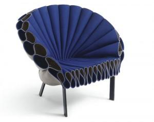 Una silla que escapa del estilo tradicional