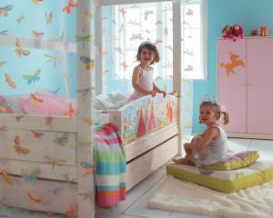 Cómo ganar espacio en una habitación infantil