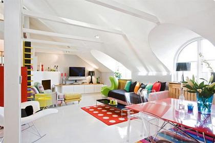 Un duplex donde el color no pasa desapercibido