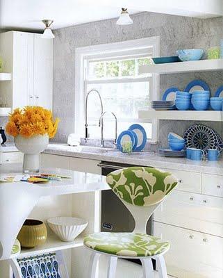 Colores en la cocina