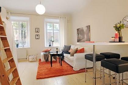Visita un peque o apartamento con grandes ideas - Ideas para decorar un apartamento pequeno ...