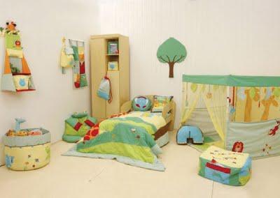 Algunas ideas para decorar la habitación infantil