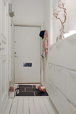 Claridad en un apartamento pequeño