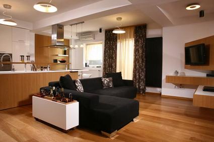 Visita un apartamento elegante