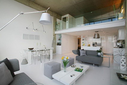 Visita un loft moderno