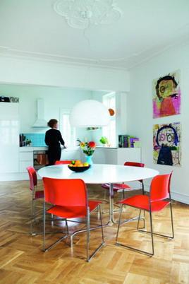 Una casa con decoración inspiradora
