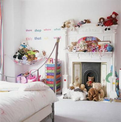 Habitaciones para niñas. Parte I