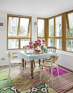 Visita una casa con estilo vintage