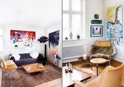 Visita una casa llena de color